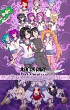 Ask Or Dare Yandere Simulator by Cupa-Chan