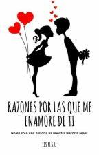 Razones por las que Me Enamore De Ti by LisNSU