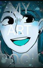 My Art Book! by _Hvlpless