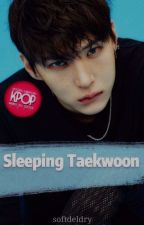 Sleeping TaekWoon by -witchplease