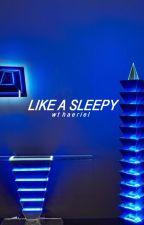 like a sleepy   vmin by aerielbaek