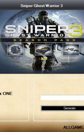 Sniper Ghost Warrior 3 Season Pass Code Generator by skylerloweryw