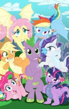 My little pony fanfiction: dragons and ponies  by coolkat2321