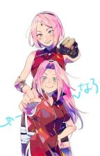 Sakura Haruno.....De la mas débil a la mas fuerte by xime-chi