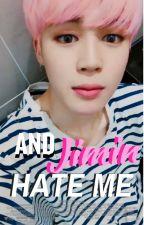 and JiMin hate me ☪ kookmin  by jungkuke-