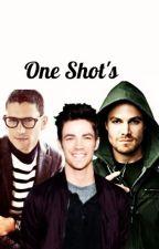 One Shot's. ColdFlash/Olivarry by HxseokBruh