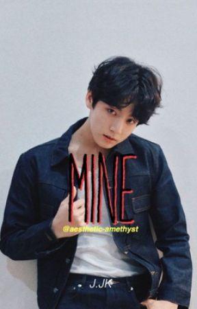 Mine// J.JK x Reader  by aesthetic-amethyst