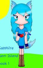 Sapphire Gem Island  by Crystalwolf25