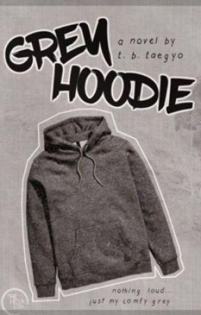 Grey Hoodie by WriterandContester