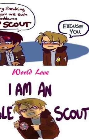 World Love (Hetalia x Reader x 2P!Hetalia) by MilkyChocolateWaves