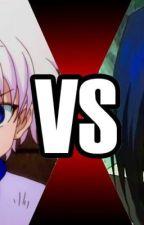 Battle Between Shinobi and Hunter (Sasuke X Reader X Killua) by NatashaTasyaar