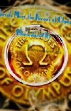 Mortals Meet the Heroes of Olympus  by bluecookies4life