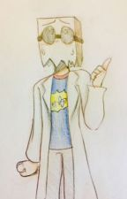 Y-You Idiot...? (Black Hat X Dr. Flug) Paperhat/BlackFlug by clutteredsinbin