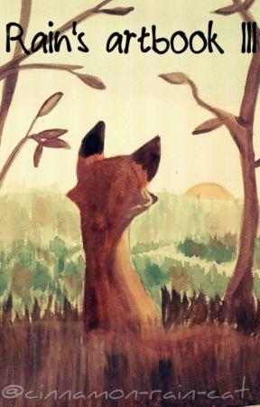 Rain's Artbook III by cinnamon-rain-cat