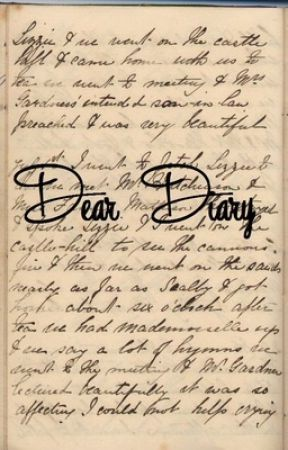 Dear Diary by GirlyCRE