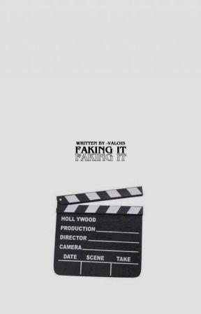 1 | faking it · m. espinosa [✔️] by cosmingki
