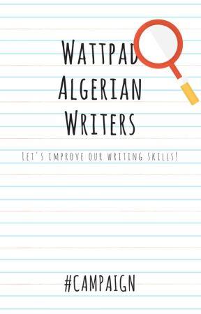 Wattpad Algerian Writers | OPEN by Pixelworm
