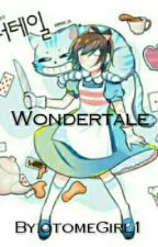 Wondertale [Frisk in Wonderland ] by otomeGirl1