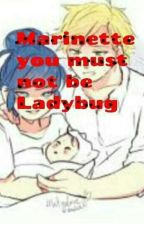 Marinette you can not be ladybug by Chatbug1456