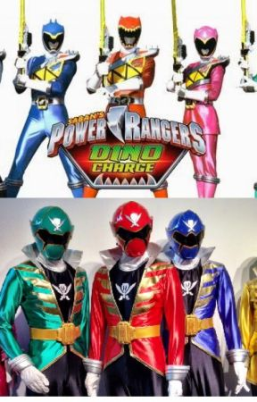 Power Rangers: Dino Super Charge Meet Super Megaforce! by MaryamSahibzada
