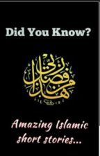 Did you know? (Inspirational Islamic Stories) by syedafatima001