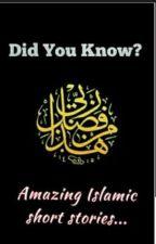 Did you know? (Inspirational Islamic Stories) by syedafatima001