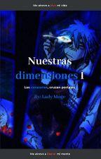 "Nuestras dimensiones (2D X ""Lectora"") by Moge-kooooo"