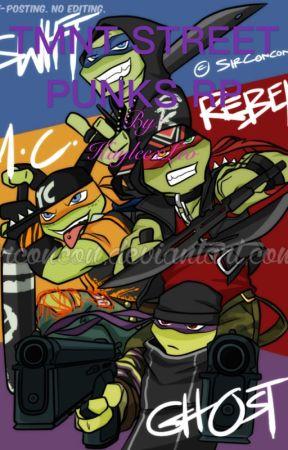 TMNT Street Punks Rp  by KayleexLeo