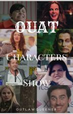 OUAT CHARACTERS SHOW by outlawqueener