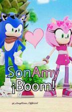 SonAmy ¡Boom! 《Terminada》 by -ImJoyToyChica-