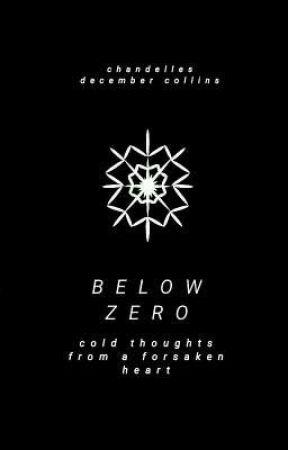 below zero by chandelles