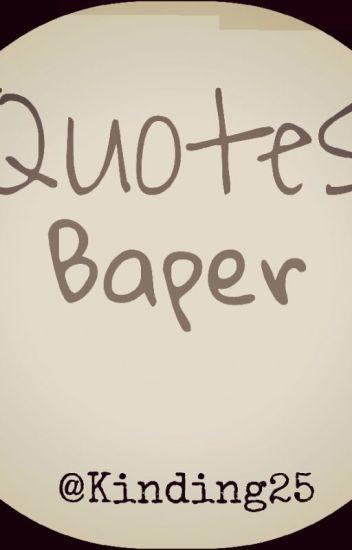 quotes baper kinding wattpad