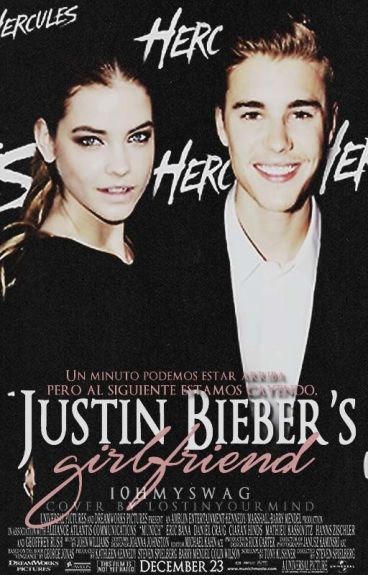 Justin Bieber's girlfriend {la novia  de Justin Bieber}.