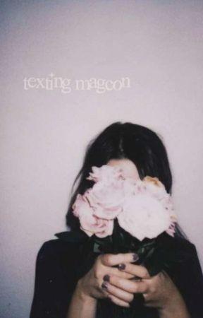 Texting magcon by fangirlwritingxx