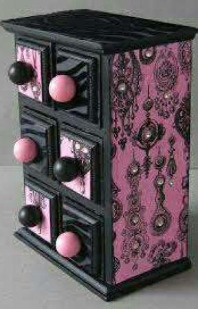 My jewelry box by Emberandthekiln