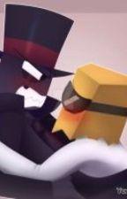 Paperhat (Black Hat X Dr. Flug)  by kierakitty18