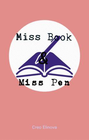 Miss Book And Miss Pen [Lesbian,GxG] by CreoElinova