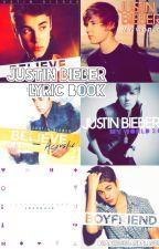 Justin Bieber Lyric Book by pinkzeus