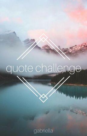 Quote Challenge by violetgo_