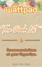 The Book List by SimpleCloverLeaf