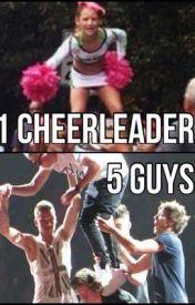 1 cheerleader 5 guys by rachelmoorehead