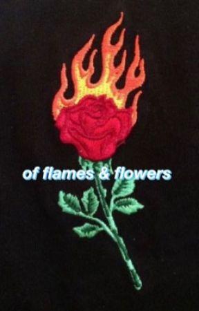 of flames n flowers by satanaesthetic