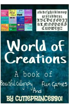WORLD OF CREATIONS by amena786
