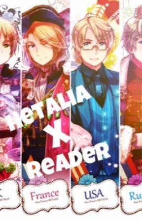 Hetalia x Reader by arftel6