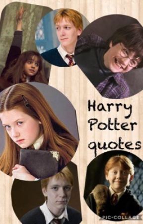 harry potter s best quotes ginny fred and george wattpad