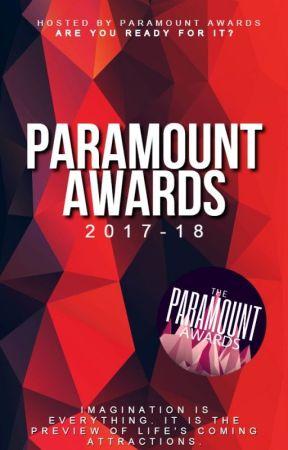 The Paramount Awards 2017-18 [ON HOLD] by Paramount_Awards