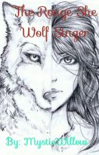 A Rouge she wolf singer by MysticWillow