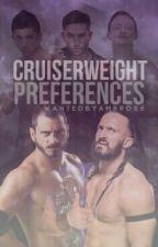 WWE Cruiserweight Preferences by WantedByAmbrose