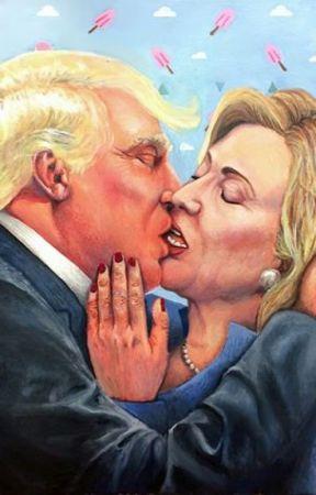Donald Trump X Hillary Clinton (X Reader) by Neranda-Ball-Cub