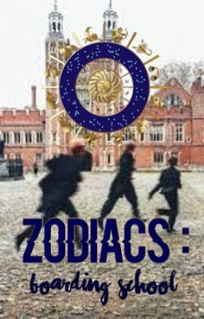 Zodiacs: Boarding School  by walkerbaiit